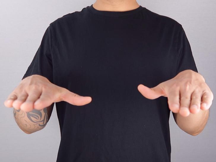 hand position (4b)